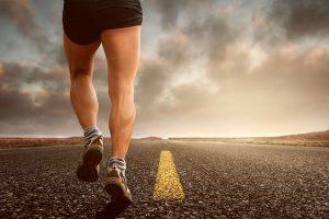 jogger auf Straße